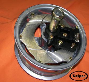 Braked wheel 8