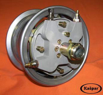 Braked wheel 6